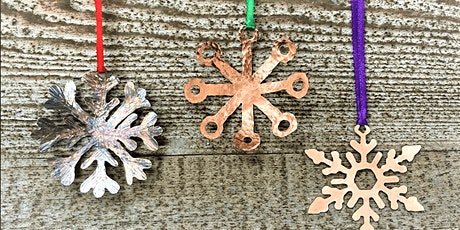 Christmas Copper Snowflakes! tickets
