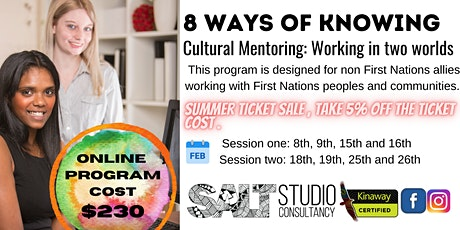8 Ways of Knowing: Cultural Mentoring - Working in two worlds tickets