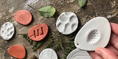 Create your own handmade nature inspired Festive Decorations in clay. tickets