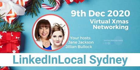 Christmas with LINKEDIN LOCAL SYDNEY - Virtual Networking 9th December 2020 tickets