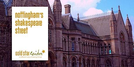 Nottingham's Shakespeare Street tickets