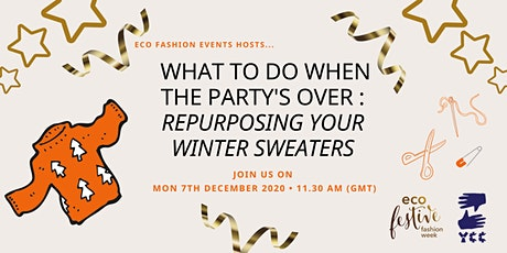 What to do when the party's over : Repurposing your winter sweaters tickets