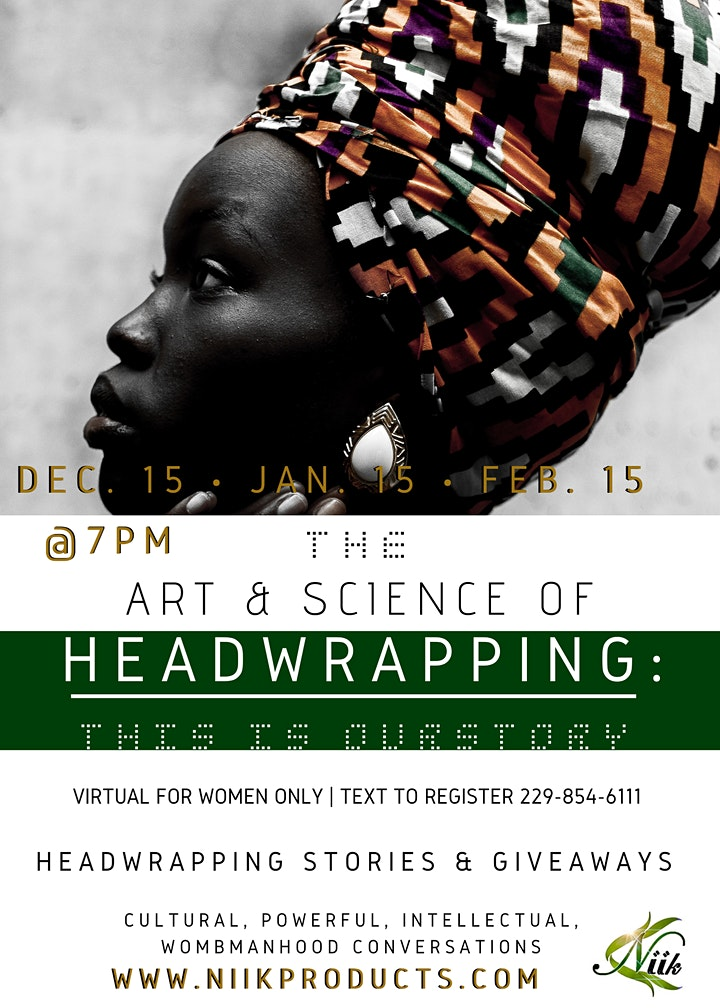 The Art & Science Of Headwrapping: This Is OurStory image