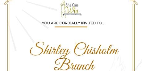 Shirley Chisholm Awards Brunch tickets