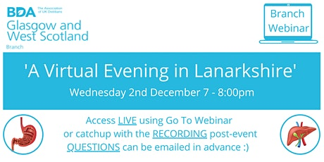 A Virtual Evening in Lanarkshire tickets