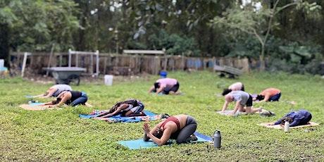 Urban Farm Yoga w Jai Dee Yoga & Wellness tickets