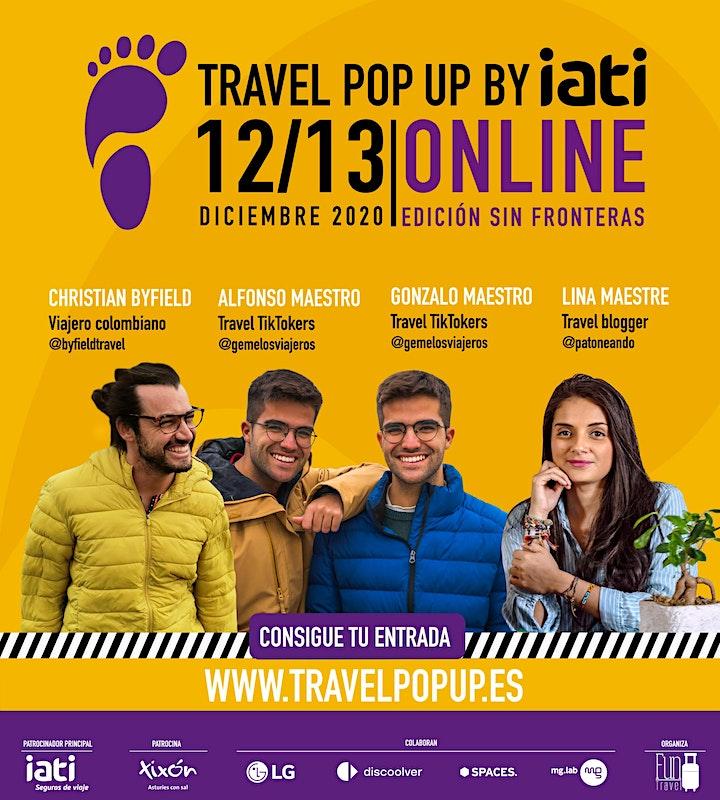 Imagen de Travel Pop Up by IATI |  Edición Sin Fronteras 2020