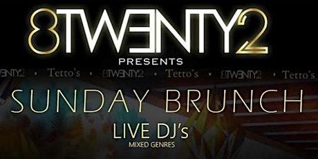 8twenty2 X Tettos Sunday Brunch tickets