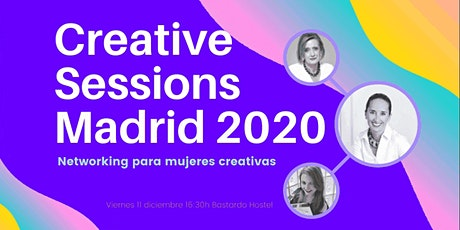 Creative Sessions Madrid - Networking para mujeres creativas tickets