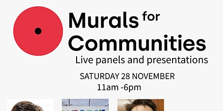 Murals for Community Panel tickets
