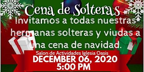 Cena de Navidad para Mujeres Solteras entradas