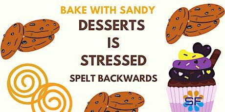 Desserts is Stressed Spelt backwards tickets