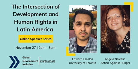 The Intersection of Development and Human Rights in Latin America tickets