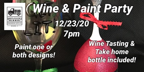 Wine & Paint Party: Holiday Edition tickets