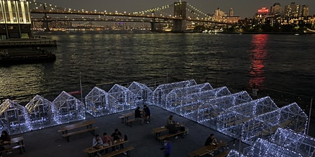 "WEDNESDAYS: WATERFRONT DINING in HEATED ""GLASSHOUSES"" @ WATERMARK - PIER 15 tickets"