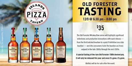 Old Forester Whiskey Row Tasting tickets