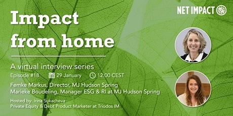 Impact From Home | Episode #18  Is Private Equity Moving the Needle on ESG? tickets