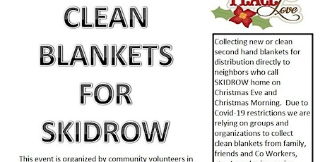 Help with Holiday Blanket Collection for DTLA Homeless @ Skidrow-kyo tickets