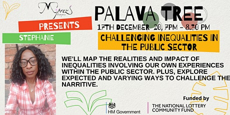 Palava Tree Webinar - Challenging Inequalities in the Public Sector tickets