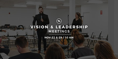VISION & LEADERSHIP MEETINGS tickets