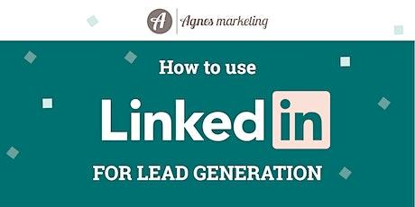 LinkedIn Lead Generation Masterclass tickets