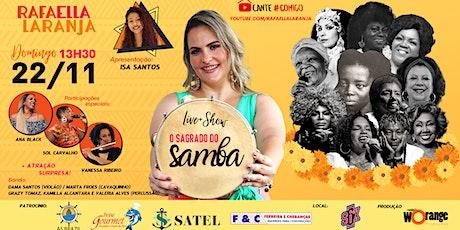 Live O Sagrado do Samba - Faça sua doação ingressos