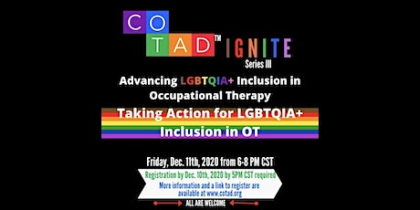 Taking Action for LGBTQIA+ Inclusion in OT tickets