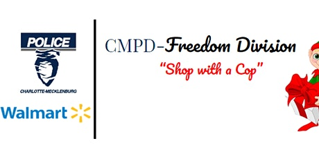 CMPD Freedom Division Shop with a Cop 2020-Volunteer Registration tickets