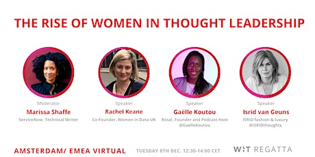 The Rise of Women in Thought Leadership tickets