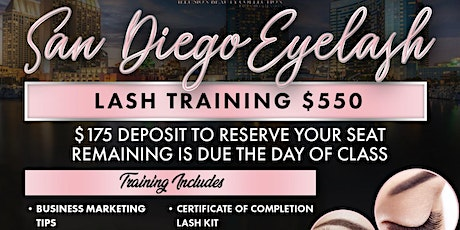 San Diego Eyelash Extension Workshop + Business Branding tickets