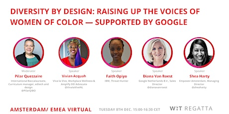 Diversity by Design: Raising Up The Voices of Women of Color tickets
