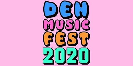 Den Music Fest 2020 tickets