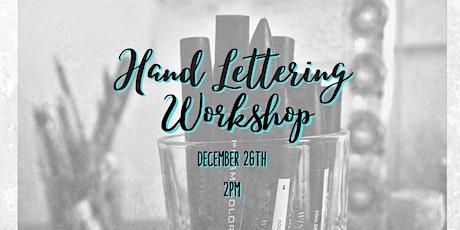 Hand Lettering Workshop tickets