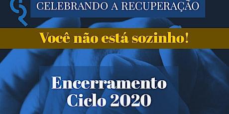 Encerramento do Celebrando a Recuperação 2020 billets