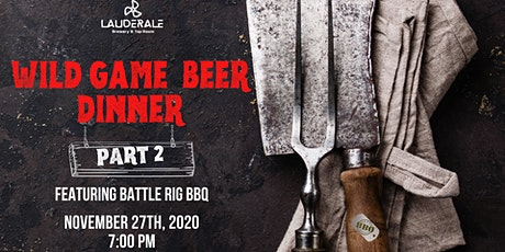 Wild Game 5 Course Dinner and Beer Pairing tickets