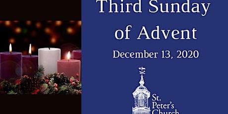 Holy Eucharist - December 13,  2020 tickets
