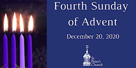 Holy Eucharist - December 20,  2020 tickets