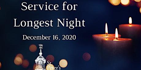 Longest Night Service - December 16,  2020 tickets