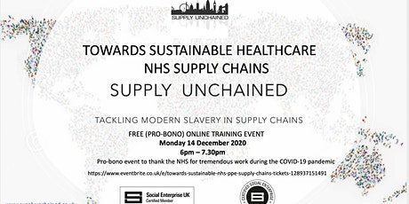 Towards Sustainable NHS Supply Chains tickets