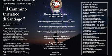 Online-Il Cammino Iniziatico di Santiago -Corso di Meditazione e Gnosi biglietti