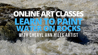 Learn to Paint Water on Rocks tickets