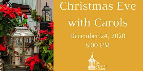 Christmas Eve - December 24,  2020 tickets