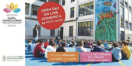 Istituto Maria Consolatrice / Open Day biglietti