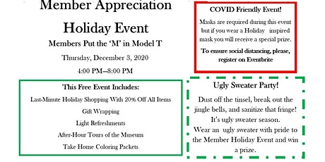 Piquette Member Appreciation Holiday Event tickets