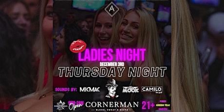 Ladies Night @ The Cornerman tickets