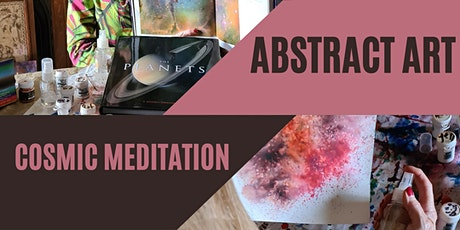 Cosmic Meditation Through Abstract Art tickets