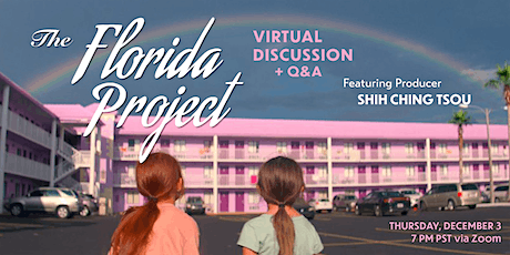 Magic Lantern Presents Live Q&A with 'The Florida Project' Producer tickets