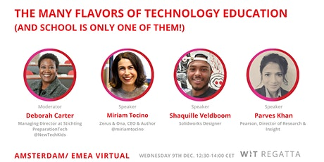 The Many Flavors of Technology Education (and school is only one of them!) tickets