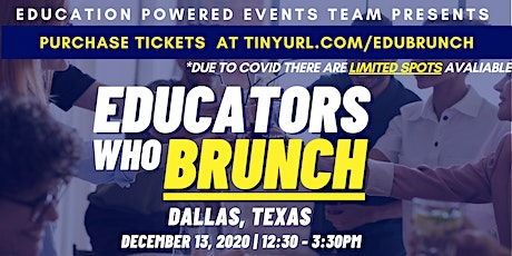 EDUCATORS WHO BRUNCH! tickets
