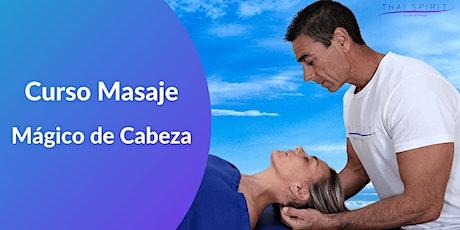Curso Masaje Mágico de Cabeza Online entradas